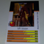 Action Man Power Cards 1996 VR Vision Trading card @sold@